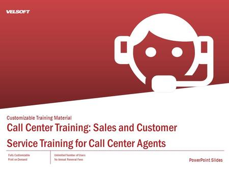 Customizable <strong>Training</strong> Material Call Center <strong>Training</strong>: Sales and Customer Service <strong>Training</strong> for Call Center Agents Fully Customizable Print on Demand Unlimited.