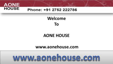 Welcome To AONE HOUSE  The Urge for Real Estate Development in India India is one of the leading nations that supports with maximum.
