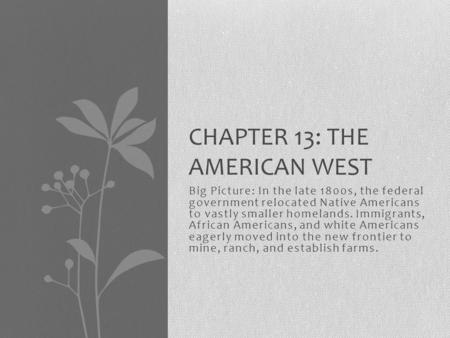 an analysis of the americanization by the federal government of native americans Whose manifest destiny the federal government and the are members of contemporary american society as such, native americans must be seen as.