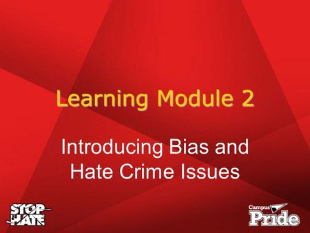 bias and hate crimes A crime motivated by racial, religious, gender, sexual orientation, or other prejudice hate crimes are based, at least in part, on the defendant's belief regarding a particular status of.