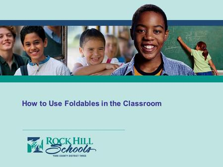 LEARN + GROW + CONNECT + THRIVE How to Use Foldables in the Classroom.