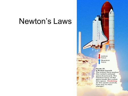 Newton's Laws. 1. What is Newton's 1 st Law of Motion? An object at rest will remain at rest and an object in motion will remain in motion unless acted.