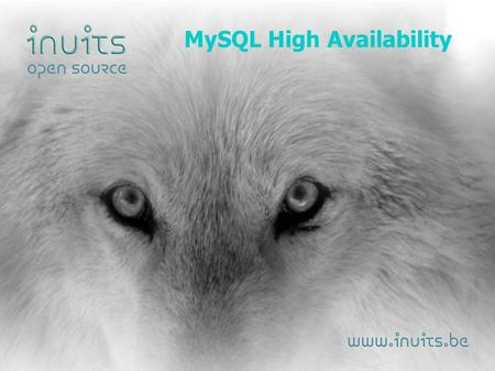 MySQL High Availability. Why High Availability Matters – Downtime is expensive – You miss $$$ – Your boss complains – New Users don't return.