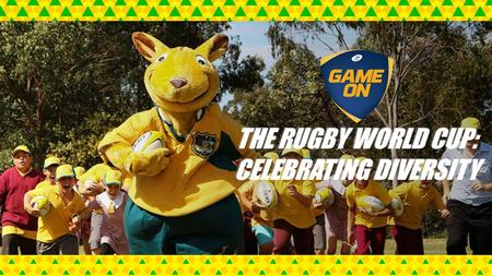 THE RUGBY WORLD CUP: CELEBRATING DIVERSITY. What is the Rugby World Cup? A tournament contested every four years by the top 20 international Rugby teams.