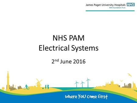 NHS PAM Electrical Systems 2 nd June 2016. 1) Policy & Procedures Does the Organisation have a current, approved Policy and an underpinning set of procedures.