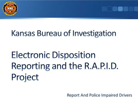 Report And Police Impaired Drivers. In 2008, an incident in Wichita involving a drunk driver and the death of a small child and her mother drove strong.