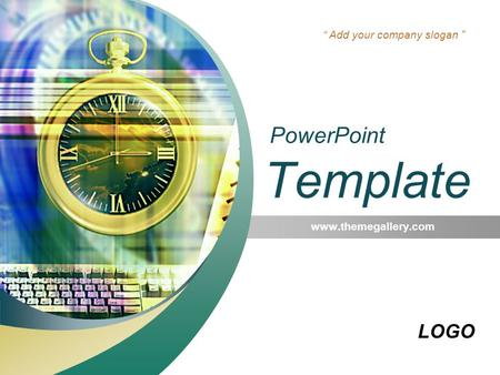 "LOGO "" Add your company slogan "" PowerPoint Template"
