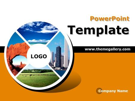LOGO PowerPoint Template  Company Name.