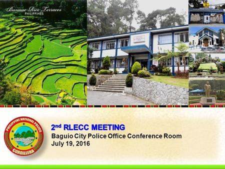 Baguio City Police Office Conference Room July 19, 2016.