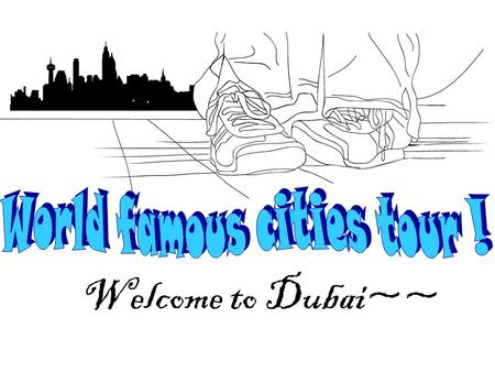 Welcome to Dubai~~. Dubai is one of the seven emirates ( 酋长 国 ) of the United Arab Emirates (UAE). It is located south of the Persian Gulf and has the.