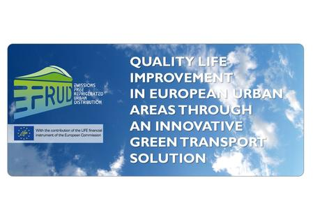QUALITY LIFE IMPROVEMENT IN EUROPEAN URBAN AREAS THROUGH AN INNOVATIVE GREEN TRANSPORT SOLUTION.