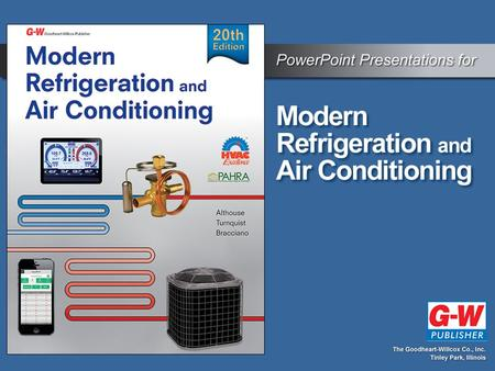 CHAPTER 6 Basic Refrigeration Systems. CHAPTER 6 Basic Refrigeration Systems.