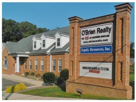 Agent Name Here C: (301) 555-1023  O'Brien Realty Office Location Name 1234 Main Street Beautiful, MD 11111 Office Phone number