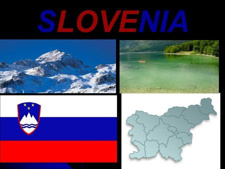 SLOVENIA. BASIC INFORMATION Slovenia (officially the Republic of Slovenia) is a democratic republic. Slovenia (officially the Republic of Slovenia) is.