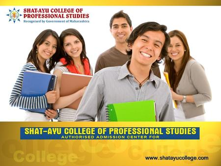 Shatayu College of professional studies established in 2008, it is centrally located in the heart of India, Nagpur. Nagpur is.