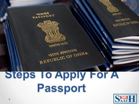 Steps To Apply For A Passport. To apply for a new passport or reissue a passport you can either fill the online form or download e-Form and submit it.