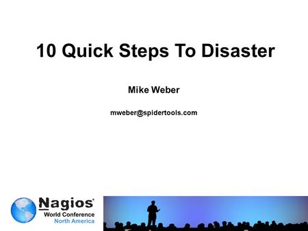 10 Quick Steps To Disaster Mike Weber