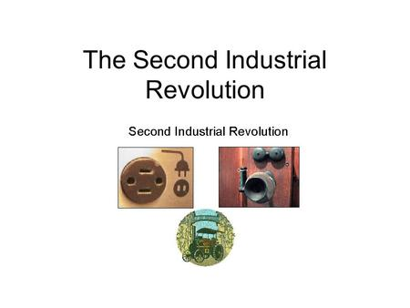 The Second Industrial Revolution. Iron & Steel The Second Industrial Revolution was a period of rapid growth in U.S. manufacturing Industry = part of.