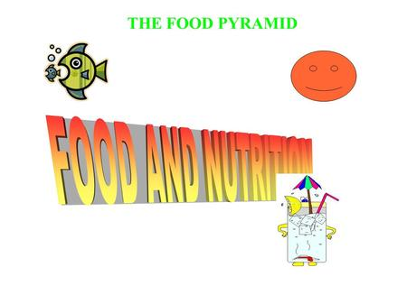 THE FOOD PYRAMID. BREAD,CEREALS,RICE AND PASTA GROUP.
