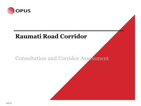 Raumati Road Corridor Consultation and Corridor Assessment 642731.