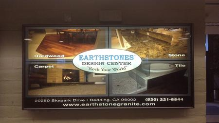 EARTHSTONES FLOORING AMERICA 20250 SKYPARK DRIVE, REDDING CA. 96002 NEW FLOORING AMERICA STORE 15,400 SQUARE FOOT SHOWROOM/STUDIO FULL DISPLAY PACKAGE,