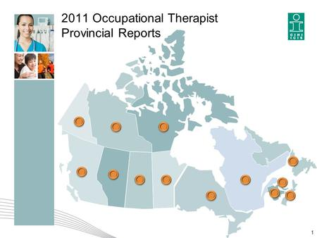 2011 Occupational Therapist Provincial Reports 1.