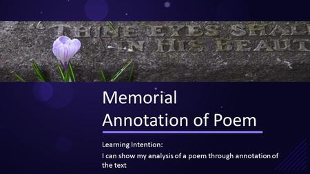 analysis of the poem in memory of my town How to analyze poetry bookmark this page manage my reading list to understand the multiple meanings of a poem, readers must examine its words and phrasing from the perspectives of rhythm, sound, images, obvious meaning, and implied meaning.