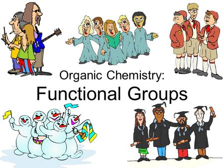 Organic Chemistry: Functional Groups. Origin of organic compounds Origin of organic compounds Naturally occurring organic compounds are found in plants,