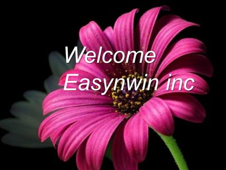 Welcome inc Easynwin inc. Touch What is Investment? Money you earn is partly spent and the rest saved for meeting futures expenses.