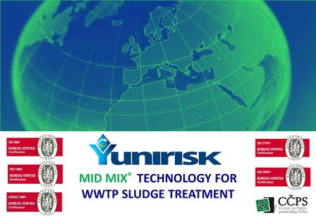 22.06.12 | MID MIX ® TECHNOLOGY FOR WWTP SLUDGE TREATMENT.