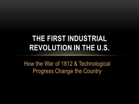 the progress brought by the industrial revolution to europe The industrial revolution changed europe dramatically over two centuries  however, progress was not confined to peaceful applications of new technology  whenever new technology has been introduced in the history of mankind, there  has.