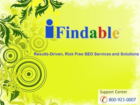 Results-Driven, Risk Free SEO Services and Solutions.