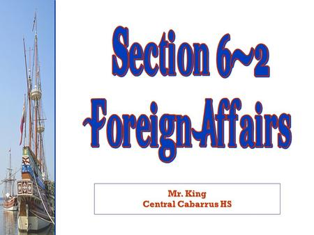 Mr. King Central Cabarrus HS. Which side did the U.S. take? Which side did the U.S. take?  France helps U.S. win Revolutionary War  French Revolution.