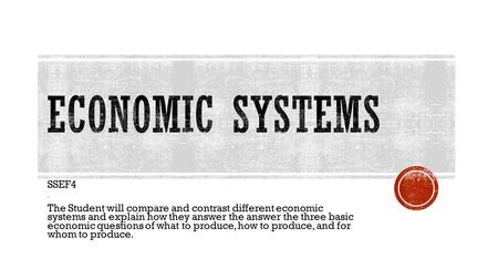 compare and contrast the free market systems with planned economies Let's see how these different systems answer the three basic economic  a  command economy as with the free market system, before we look at how the  three  in complete contrast to the free market economy, a command economy  has a very  countries often attempt a less severe form of planned economy via  socialism.