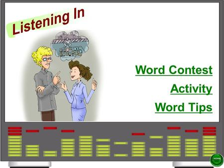 Activity Word Contest Word Tips Activity Word Contest.