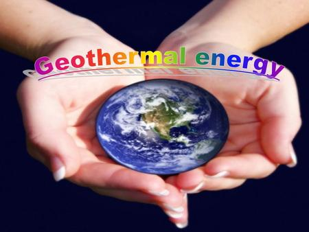 The geothermal energy is generated by means of geological sources of energy and it is a renewable energy. With all the geothermal energy that our.