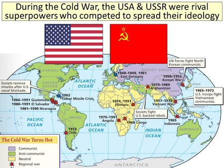 the undertakings of the usa and ussr in the cold war In what way did the relationship between the united states and the soviet union change after world war ii what was the relationship between usa and ussr before and after the world war ii.