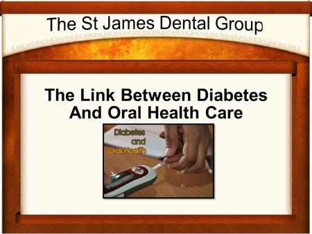 The Link Between Diabetes And Oral Health Care.  Diabetes and Oral Care Oral health care is an aspect of health that is.