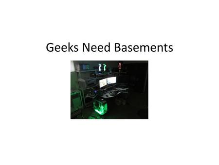 Geeks Need Basements. Who am I? Started in computer industry in 1982 Specializing in security for the past 15 years ASS (Application Security Specialist)