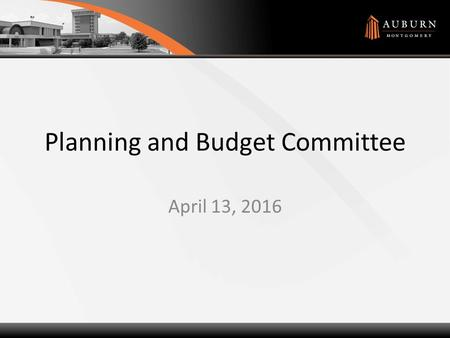 Planning and Budget Committee April 13, 2016. Agenda How are we doing? How are we doing? – 2nd Qtr Results How much is tuition going up? How much is tuition.