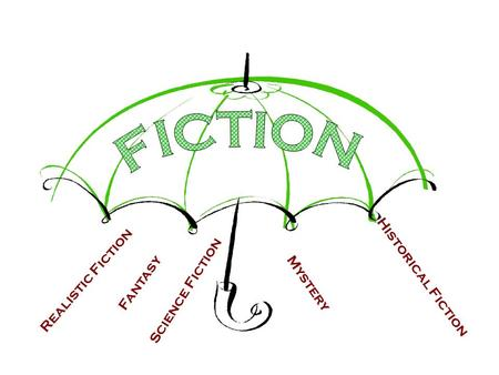 Mystery Fantasy Realistic Fiction Historical Fiction Science Fiction.