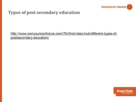 Types of post secondary education  postsecondary-education/