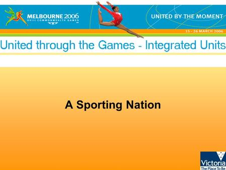 A Sporting Nation. United through the Games - Integrated units © State of Victoria, 2005 Stevie Loy Akemarr Alyawarr born (c. 1974) Sandover footballer.