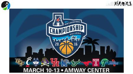 March 10-13, 2016 – Amway Center 9 total games - All broadcast on ESPN networks Schedule: Thursday, March 10 First Round - 3:30 pm/6 pm Friday, March.