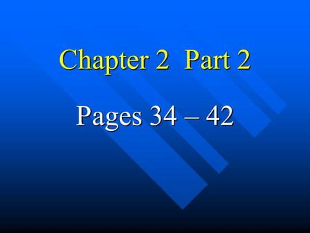 Chapter 2 Part 2 Pages 34 – 42 Chemical Compounds of the Cell Inorganic compounds – these compounds do not contain chains of carbons Inorganic compounds.