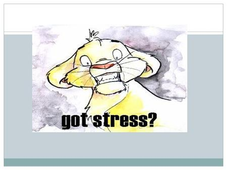 Words to know Stressor s Adrenal Glands Stress Respons e Hormon es Fight or Flight Underline the word (s) you know. Eustress Distress Acute Stress Chronic.