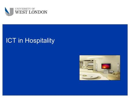 ICT in Hospitality. What is data ? DATA is raw facts and figures. These have very little meaning until they are sorted or they are used to make calculations.