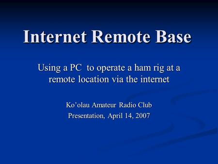 how to get internet in remote location