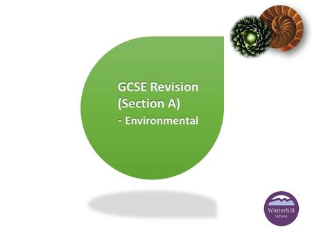 GCSE Revision (Section A) - Environmental. Q What is Social Impact in design and manufacture? Please turn to pages 50 -51 of the AQA product design workbook.