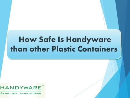  Our homes are full of plastic, and the kitchen is no exception. The problem: Chemicals in plastic containers and other kitchenware may leach into the.